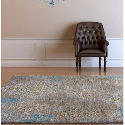 Chapman Gray Indoor/Outdoor Area Rug Rug Size: 8 x 10