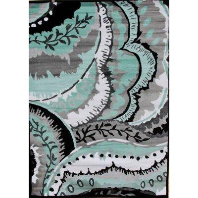 Chapman Turquoise Indoor/Outdoor Area Rug Rug Size: 5 x 7