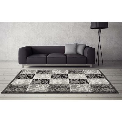 Chapman Gray Indoor/Outdoor Area Rug Rug Size: 5 x 7
