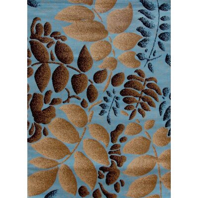 Chapman Blue Indoor/Outdoor Area Rug Rug Size: 5 x 7