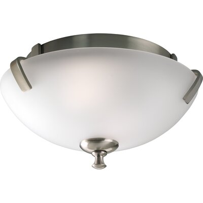 Charleston Semi Flush Mount Finish: Brushed Nickel