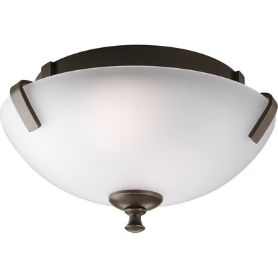 Charleston Semi Flush Mount Finish: Antique Bronze