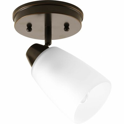 Charleston 1-Light Semi-Flush Mount Finish: Antique Bronze