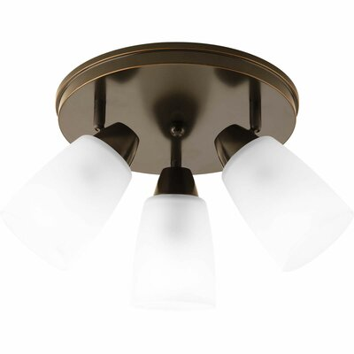 Charleston 3-Light Semi-Flush Mount Finish: Antique Bronze