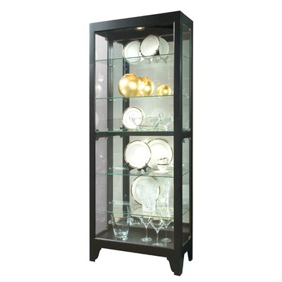 Charndon Lighted Curio Cabinet