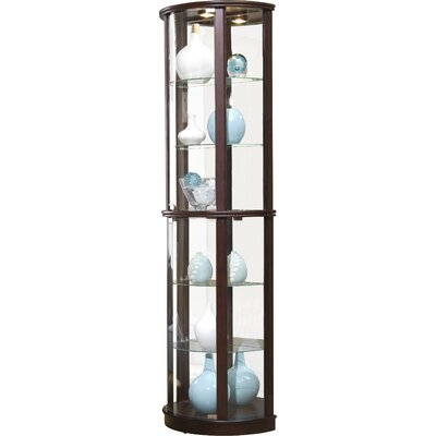 Chesapeake Narrow Lighted Curio Cabinet