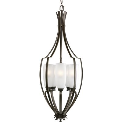 Charleston 5-Light Foyer Pendant Finish: Antique Bronze