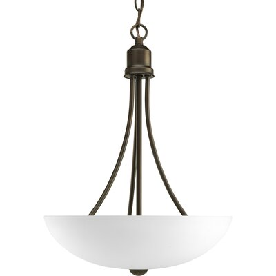 Charlottesville 2-Light Hall and Foyer Inverted Pendant Finish: Antique Bronze, Energy Star: Yes
