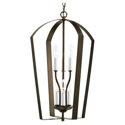 Charlottesville 6-Light Hall and Foyer Pendant Finish: Antique Bronze