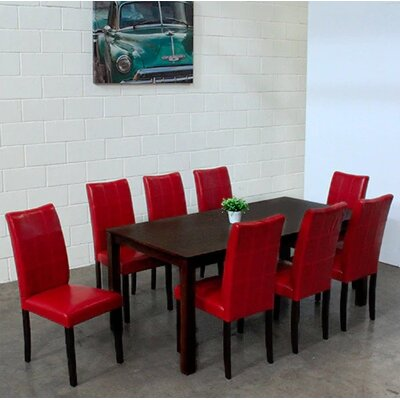 Etelvina 9 Piece Dining Set