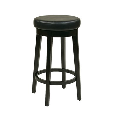 Chesterhill 30.25 Bar Stool with Cushion Upholstery: Espresso