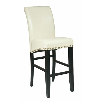 Chesterhill 30 Bar Stool Upholstery: Cream
