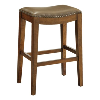 Chesterhill Bar Stool Upholstery: Molasses