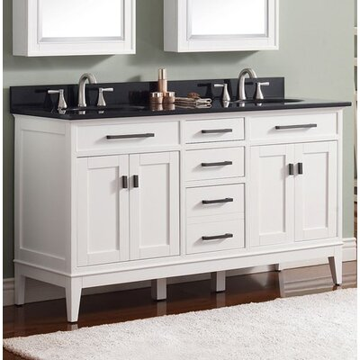 Chesterville 60 Bathroom Vanity Base Finish: Light Espresso