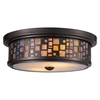 Clara 2-Light Flush Mount