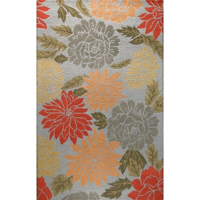 Clarkshire Light Blue Area Rug Rug Size: 36 x 56