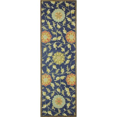 Clarkshire Navy Area Rug Rug Size: 36 x 56