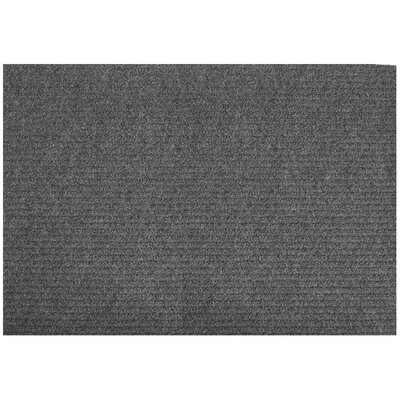 Clermont Doormat Mat Size: Rectangle 2 x 3, Color: Charcoal