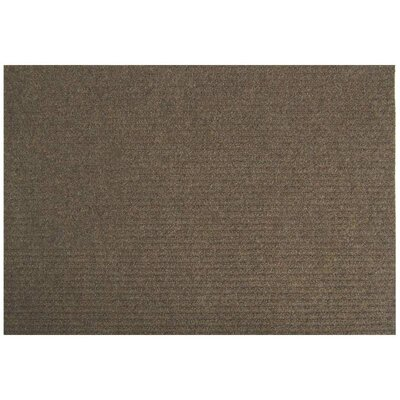 Clermont Doormat Mat Size: Rectangle 2 x 3, Color: Brown