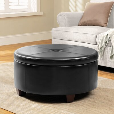 Cleveland Upholstered Storage Ottoman