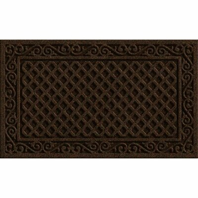 Clymer Iron Lattice Doormat Rug Size: 16 x 26