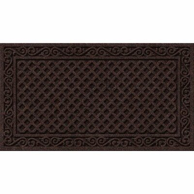 Clymer Iron Lattice Doormat Rug Size: 18 x 3