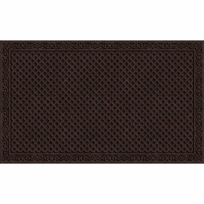 Clymer Iron Lattice Doormat Mat Size: Rectangle 3 x 5