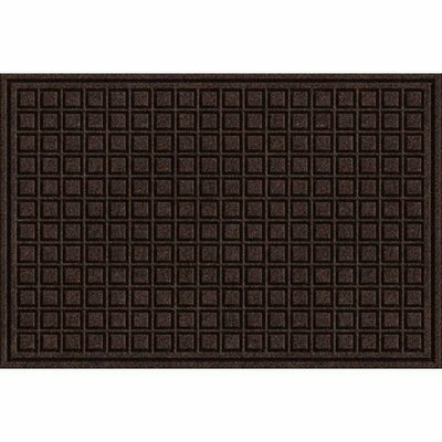 Clymer Blocks Doormat Color: Walnut