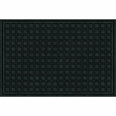 Clymer Blocks Doormat Color: Onyx