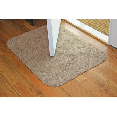 Concord Doormat Size: 20 x 30, Color: Brown/White