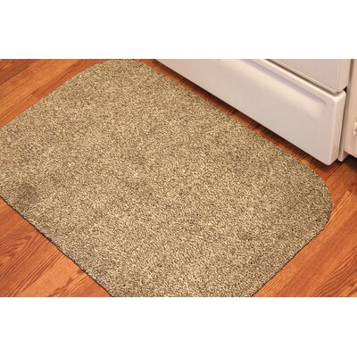 Concord Doormat Size: Rectangle 30 x 40, Color: Brown/White
