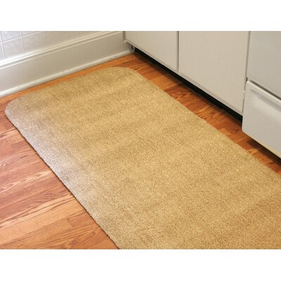 Concord Doormat Mat Size: Rectangle 30 x 58, Color: Brown/White