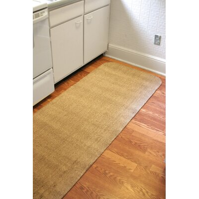 Concord Doormat Mat Size: Rectangle 30 x 84, Color: Brown/White