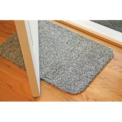 Concord Doormat Size: Rectangle 30 x 58, Color: Black/White