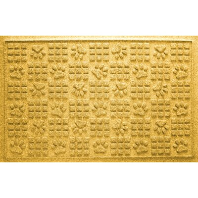 Conway Doormat Color: Yellow