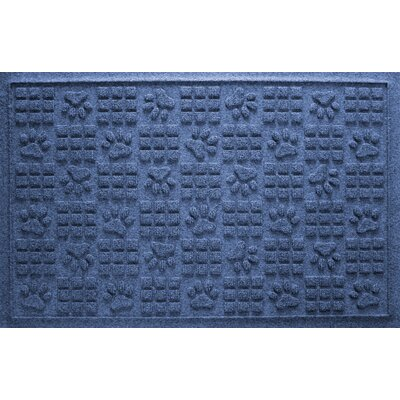Conway Doormat Color: Navy