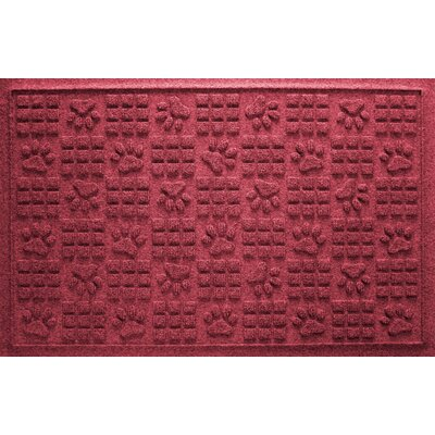 Conway Doormat Color: Red/Black