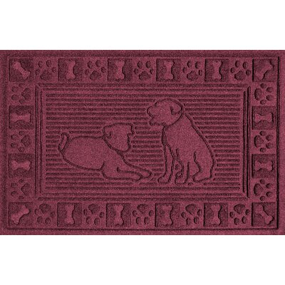 Conway Doormat Color: Bordeaux