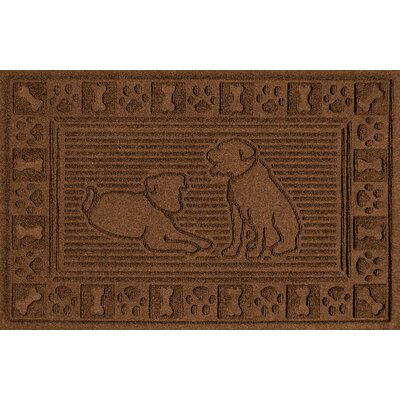 Conway Doormat Color: Dark Brown