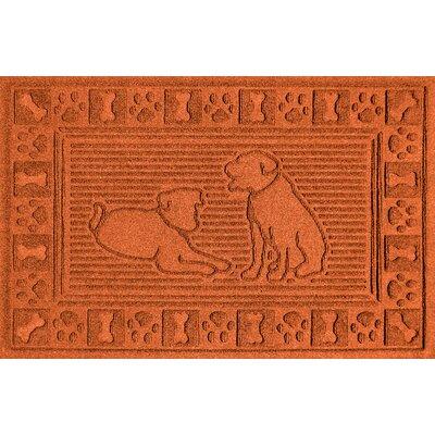 Conway Doormat Color: Orange