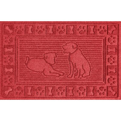 Conway Doormat Color: Solid Red