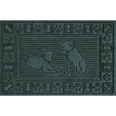 Conway Doormat Color: Evergreen