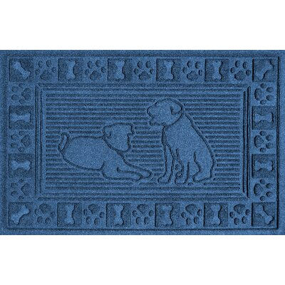 Conway Doormat Color: Blue