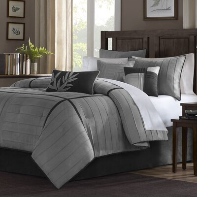 Cortland 6 Piece Duvet Cover Set Size: Full / Queen