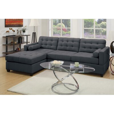 Red Barrel Studio RDBL4484 Kingsport Reversible Sectional Upholstery
