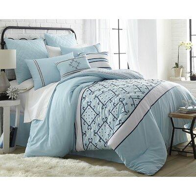 Lakin 8 Piece Comforter Set Size: King
