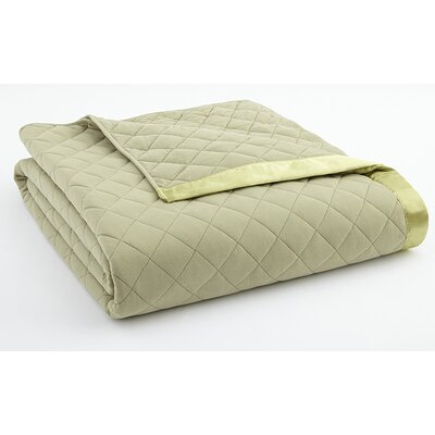 Langport Quilted Blanket Color: Meadow, Size: Twin