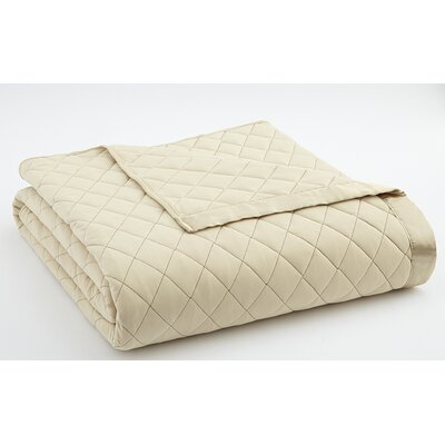 Langport Quilted Blanket Size: King, Color: Chino