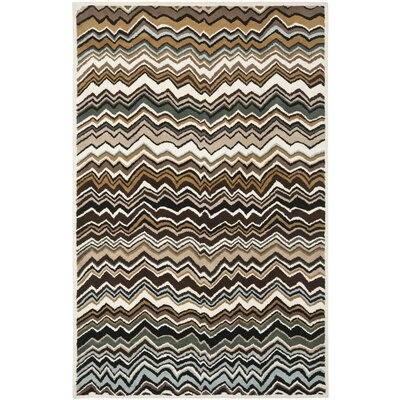 Marquette Brown/Multi Rug Rug Size: Rectangle 26 x 4