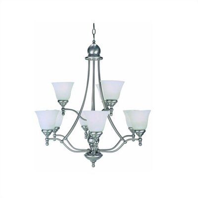 Kirkwall 9-Light Shaded Chandelier